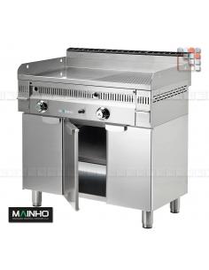 Meuble Inox Surbaisse MFTP-60 MAINHO M36-MFTP60 MAINHO® Fry-Top Fullcrom 50 EUROCROM EUROSNACK