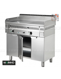 Stainless Steel Surbaisse MFTP-60 Mainho M36-MFTP60 MAINHO® FryTops MAINHO EURO-CROM SNACK