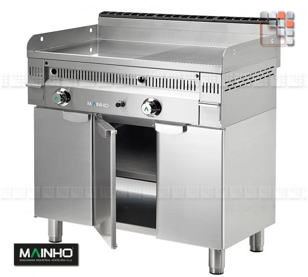 Stainless steel cabinet MFTP-90 MAINHO M36-MFTP90 MAINHO SAV - Accessoires FryTops MAINHO EURO-CROM SNACK