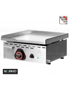 Plancha ECO -45CD UNI MAINHO M04-ECO45CDUNI MAINHO® Plancha ECO Mainho Chrome & Blued Steel