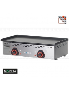 Plancha ECO EM-60PV 230V MAINHO M04-ECOEM60PV MAINHO® Plancha ECO Mainho Chrome & Blued Steel