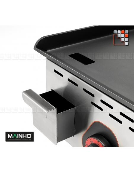 Plancha ECO EM-60PV 230V MAINHO M04-ECOEM60PV MAINHO® Plancha ECO Mainho Chrome & Blued Steel