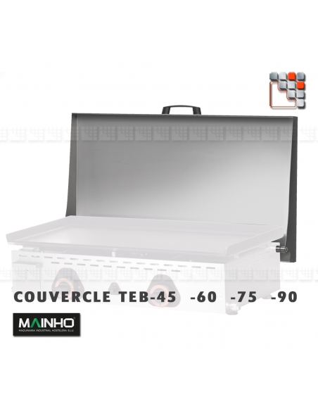 Plancha ECOEM-60CD 230V MAINHO M04-ECOEM60CD MAINHO® Plancha ECO-PV Club ECO-CD Pro