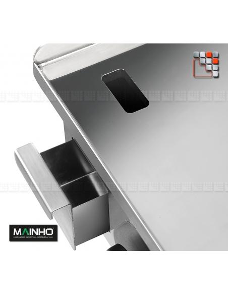 Plancha ECOEM-60CD 230V Mainho M04-ECOEM60CD MAINHO® Plancha ECO Mainho Chrome & Blued Steel