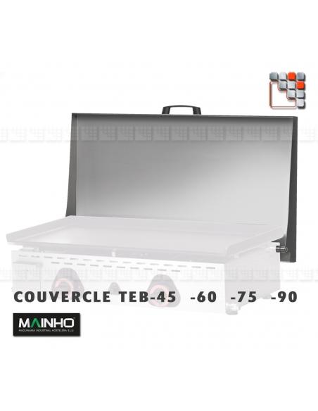 Plancha ECO EM-75CD 230V MAINHO M04-ECOEM75CD MAINHO® Plancha ECO Mainho Chrome & Blued Steel