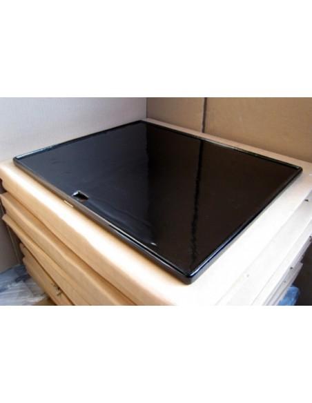 plaque en fonte acier pour plancha. Black Bedroom Furniture Sets. Home Design Ideas