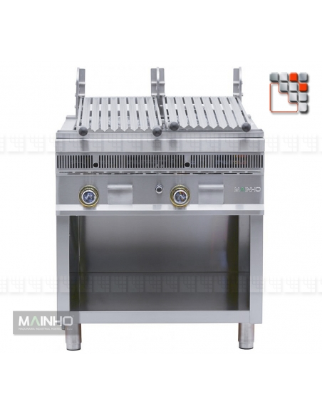 Parrillas PSI-80 Royal Grill-Mainho M04-PSI80 MAINHO® Royal Nova Bras Grill Parillas