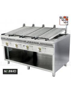 Parrillas PSI-160 Royal Grill-Mainho M04-PSI160 MAINHO® Royal Nova Bras Grill Parillas