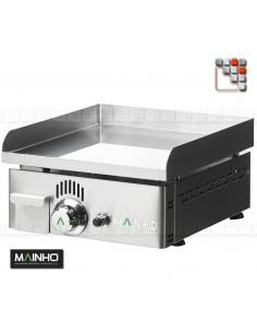 Plancha NC-40N Novo-Crom Gaz MAINHO M04-NC40N MAINHO® Plancha Premium NOVOCROM NOVOSNACK