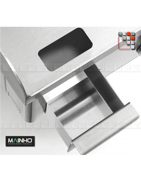 Plancha NC-60 Novo-Crom Gas MAINHO. M04-NC60N MAINHO® Plancha MAINHO NOVO CROM SNACK