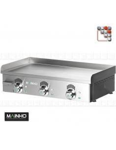 Plancha NSEM-80N 240-400V Mainho M04-NSEM80N MAINHO® Plancha MAINHO NOVO CROM SNACK