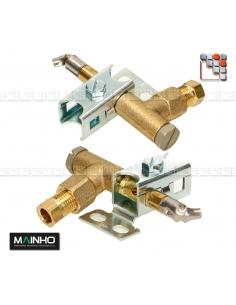 Kit veilleuse 3 flammes serie FC-PC-PSI-W MAINHO M36-20520 MAINHO SAV - Accessoires Pièces détachées MAINHO