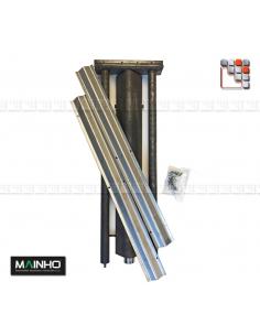 Kit Reparation Rampe Gaz Inox Parrillas PSI MAINHO M36-1016000021 MAINHO SAV - Accessoires Pièces détachées MAINHO