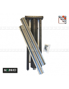 Kit Repair Ramp Gas Stainless steel Parrillas PSI MAINHO M36-1016000021 MAINHO SAV - Accessoires MAINHO Spares Parts Gas