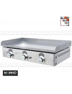 Plancha NC-80N Novo-Crom Gas Mainho M04-NC80N MAINHO® Plancha MAINHO NOVO CROM SNACK