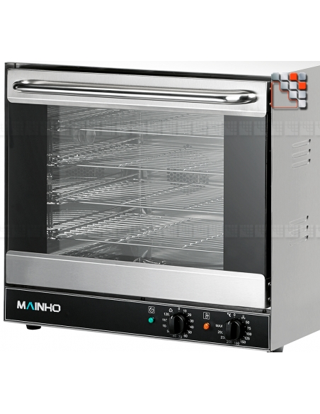 Furnace with Humidifier 230V Mainho M04-HRN1GH MAINHO® Fryers Wok Steam-Oven