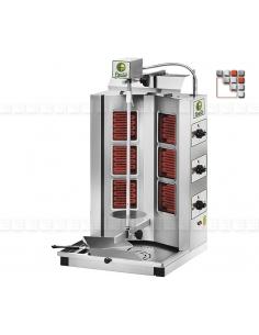 Gyros GYR60 à Kebab 230-380V B35-GYR60 BARTSCHER Salamandre Kebab Snack-Bar