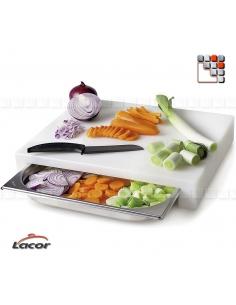 Planche à Découper Polyéthylène GN 2/3 LACOR D19-60593 LACOR® Ustensiles de Cuisine