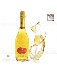 Pétillant Brut 100% 24K GoldEmotion G03-ORC3 GoldEmotion Vins Cocktails et Boissons