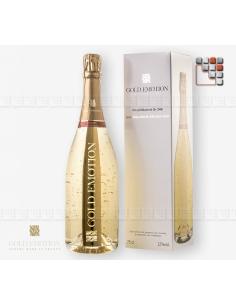 Brut 100% Chardonnay 24K G03-ORC1 GoldEmotion Wines Cocktails & Drinks