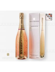 Brut Rosé 100% Pinot Noir 24K GoldEmotion G03-ORC2 GoldEmotion Vins Cocktails et Boissons