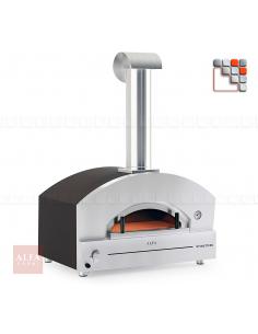 Four Stone Oven 90 Inox Alfa Forni A32-FXSTNM-GRAM ALFA FORNI® Fours mobiles ALFA FORNI