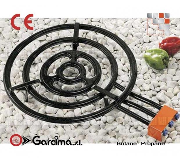 Paella burner L70 + gas Garcima G05-76070 GARCIMA® LaIdeal Gas Burners Paella Garcima