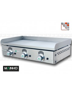 Plancha NS R-80 Novo Snack Grooved MAINHO M04-NSR80N MAINHO® Plancha MAINHO NOVO CROM SNACK