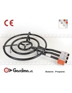 Burner Gas Paella D70 Garcima G05-20701 GARCIMA® LaIdeal Gas Burners Paella Garcima