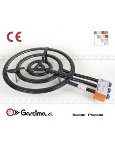 Paella burner L60 + gas Garcima G05-76060 GARCIMA® LaIdeal Gas Burners Paella Garcima