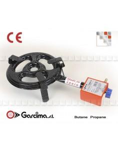 Burner Paella L20 + gas Garcima G05-76020 GARCIMA® LaIdeal Gas Burners Paella Garcima
