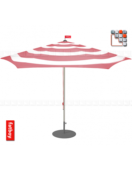 Parasol Stripesol 350 cm Fatboy® F49-103415 FATBOY THE ORIGINAL® Mobilier pour Salon d'Exterieur
