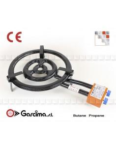Paella burner L40 + gas Garcima G05-76040 GARCIMA® LaIdeal Gas Burners Paella Garcima