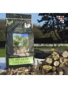 Pellets Du Quercy in bag for Grill and Barbecue A17-BBQ15 A la Plancha® Barbecues Oven Accessories