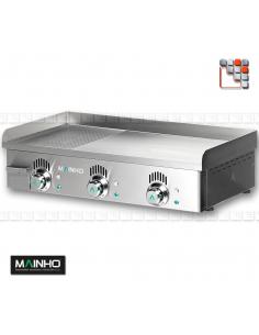 Plancha NCREM-80 Novo-Crom 230V MAINHO M04-NCREM80N MAINHO® Plancha Premium NOVOCROM NOVOSNACK