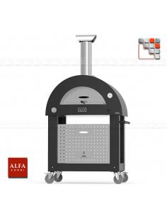 copy of Four Stone Oven 90 Inox Alfa Forni A32-FXBRIO ALFA FORNI® Mobil Oven ALFA FORNI