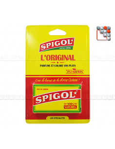 Blister pack Spigol Saffron and Spices ZS2-F04 A la Plancha® Spices and Terroir Specialities