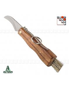 Couteau à Champignons Palissandre AUNAIN A38-198.21.02 AU NAIN® Coutellerie Couteaux & Découpe