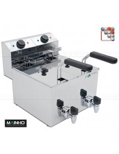 copy of Fryer FRE 8V - 8L 3.3 kW MAINHO M04-FRE88V MAINHO® Fryers Wok Steam-Oven