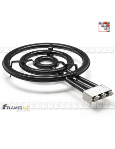 Bruleur Gaz T-600BFR VLC F08-T600 FLAMES VLC® Bruleur Gaz Flames VLC