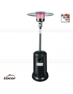 Parasol Chauffant Black LACOR L10-69401 LACOR® Chauffage de Terrasse