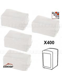 Serviettes Papier Recharge pour Distributeur LACOR L10-61002W LACOR® Ustensiles de Cuisine
