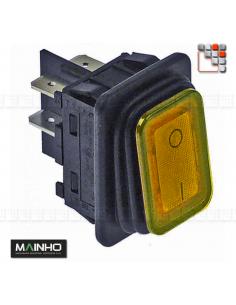 Interrupteur Basculant 20A - 230V Ambre MAINHO M36-04000000006 MAINHO SAV - Accessoires Pièces détachées Electrique MAINHO
