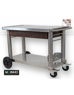 Chariot Plancha Inox+ Mainho MH-CH MAINHO SAV - Accessoires Planchas MAINHO NOVO CROM SNACK