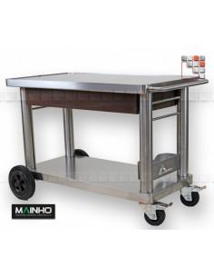 Trolley Plancha Inox+ Mainho M04-CH MAINHO SAV - Accessoires Plancha MAINHO NOVO CROM SNACK
