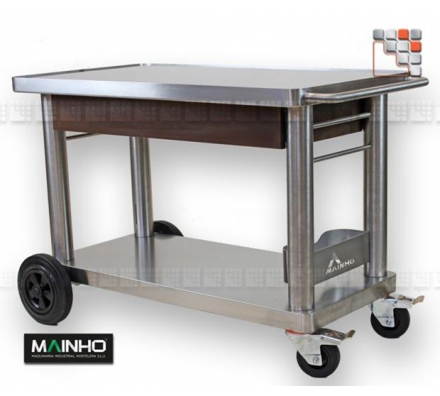 Trolley Plancha Inox+ Mainho MH-CH MAINHO SAV - Accessoires Plancha MAINHO NOVO CROM SNACK