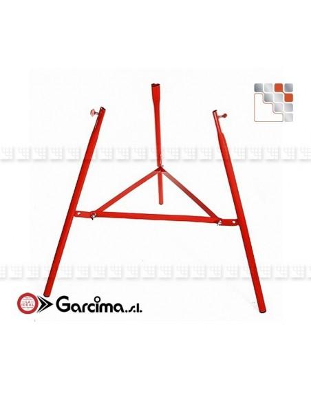 Tripods Reinforce 75 Garcima G05-40007  Ustensils Paella Garcima