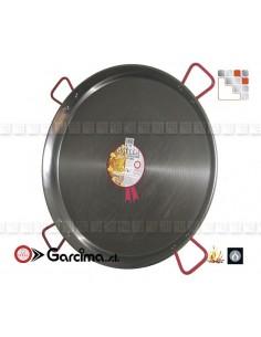 Paella Pan D100 Polished Garcima 10019 GARCIMA® LaIdeal Paella Poli dish PataNegra Garcima